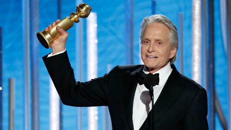Michael Douglas Golden Globes