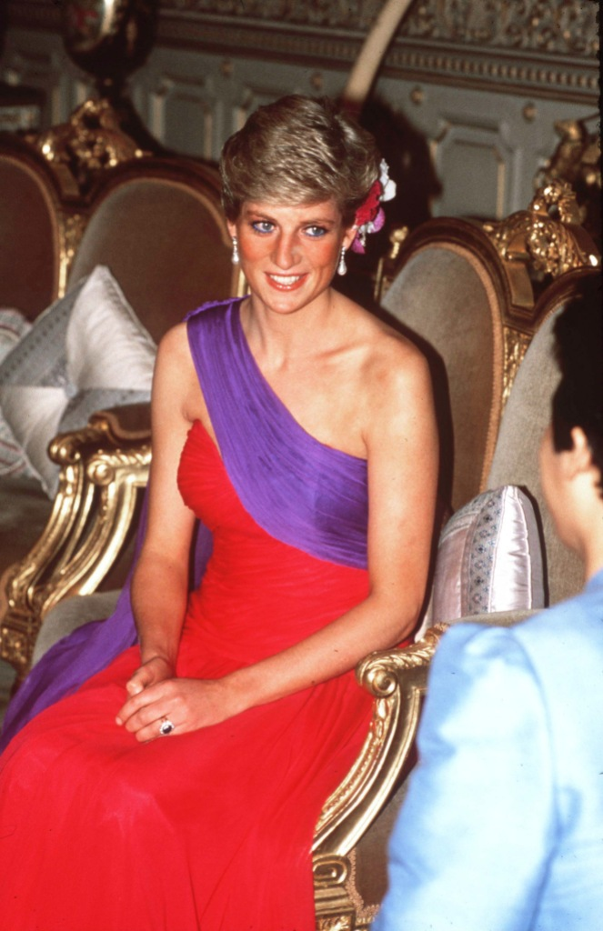 Princess Diana In Bangkok