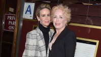 "Sarah Paulson and Holland Taylor attend the ""The Front Page"" Broadway Opening Night"