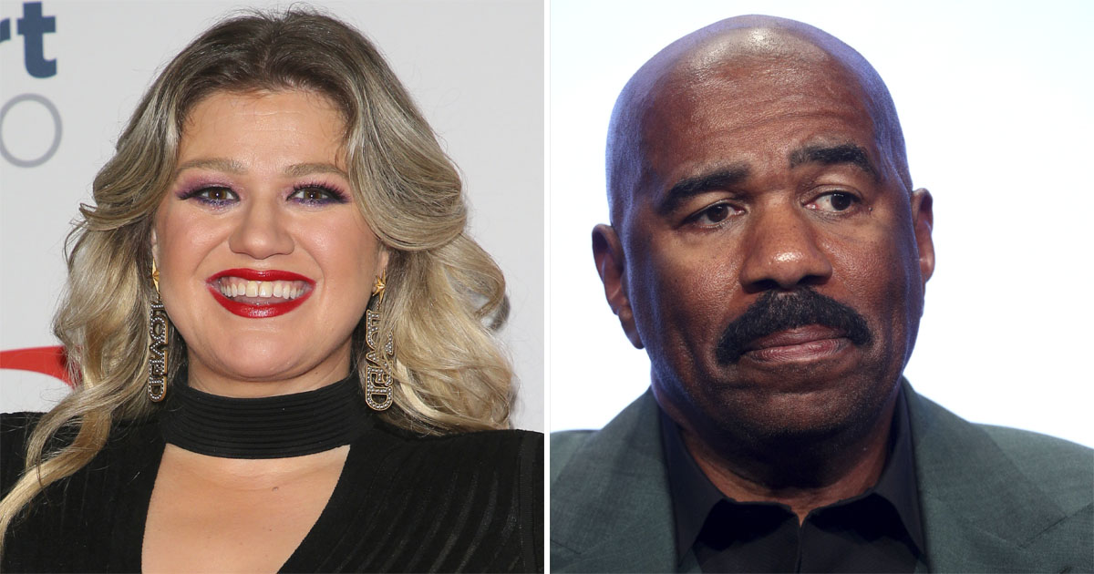 NBC Cancels Steve Harvey's Talk Show for a New Series Hosted By Kelly Clarkson