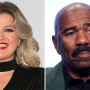 Kelly Clarkson Steve Harvey