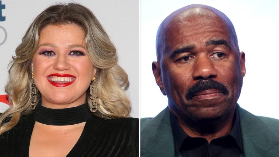 Kelly Clarkson Steve Harvey