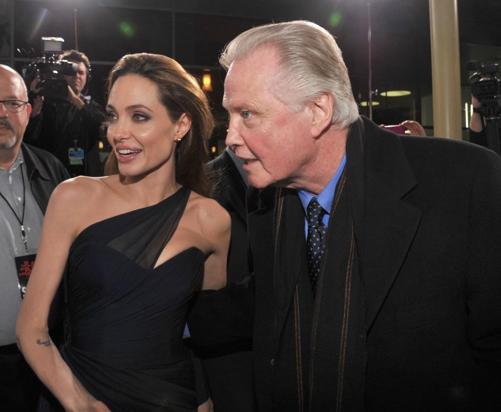 Angelina Jolie Jon Voight