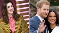Anne Hathaway Prince Harry Meghan Markle