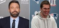 Ben Affleck Tom Brady