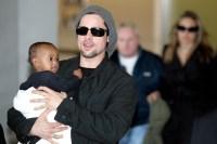 Brad Pitt Zahara Jolie Pitt