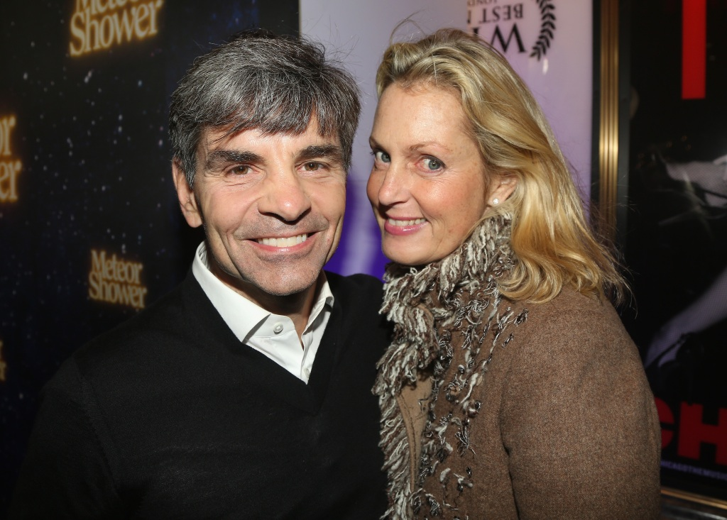 Ali Wentworth George Stephanopoulos