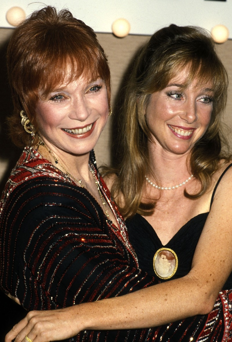 Shirley MacLaine and daughter Sachi Parker