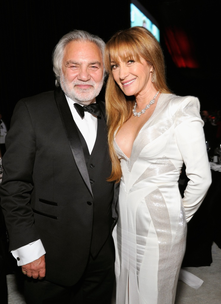 Jane Seymour and David Green