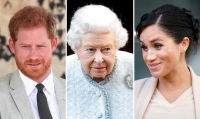 Prince Harry Queen Elizabeth Meghan Markle