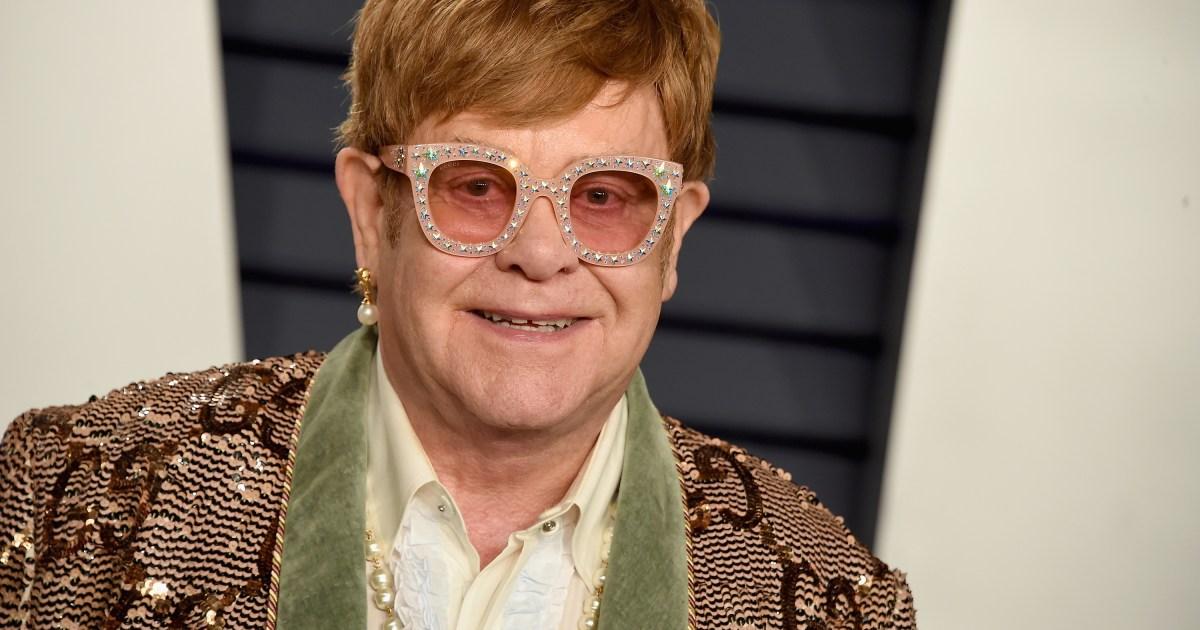 Elton John Keeps 'Elton on Stage' so His 2 Kids Remain ...