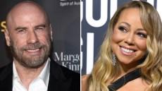 John Travolta Mariah Carey