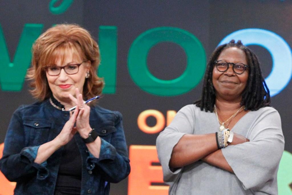 Joy Behar Whoopi Goldberg