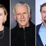 Kate Winlset James Cameron Leonardo DiCaprio