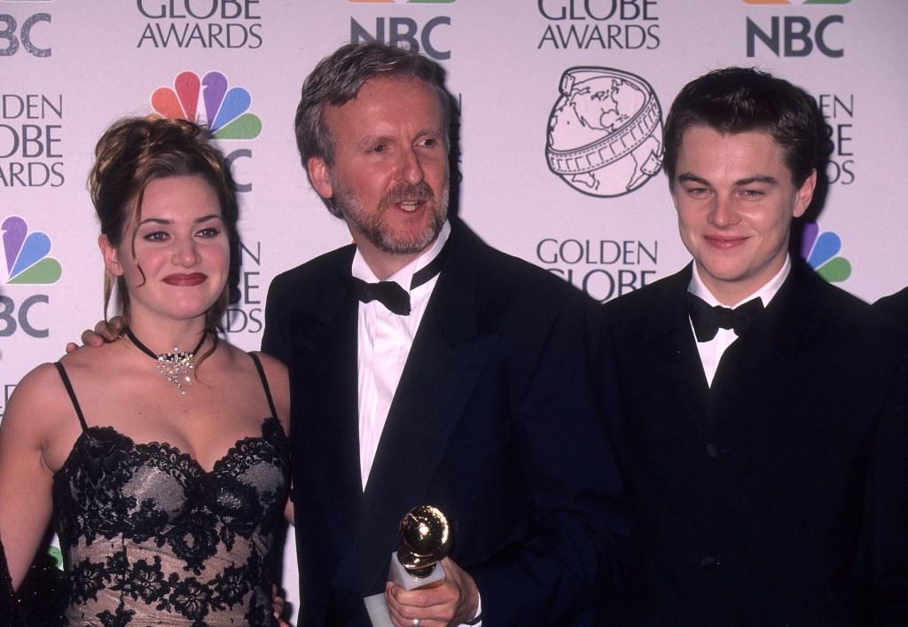 Leonardo Dicaprio James Cameron Kate Winslet
