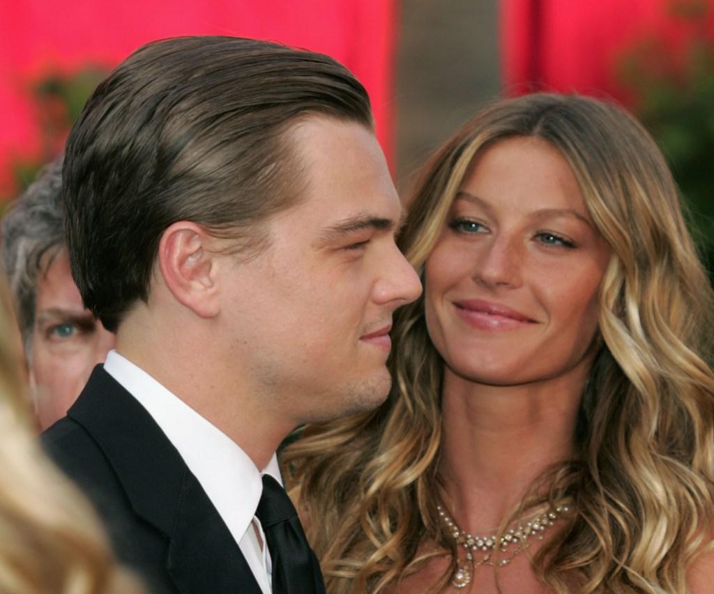 Leonard DiCaprio Gisele Bundchen