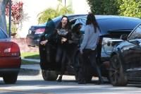 Mila Kunis and Zoe Saldana run into each other