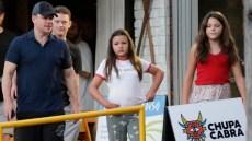 Matt Damon Daughters
