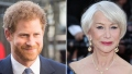 Prince Harry Helen Mirren