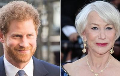 Prince Harry Helen Mirren