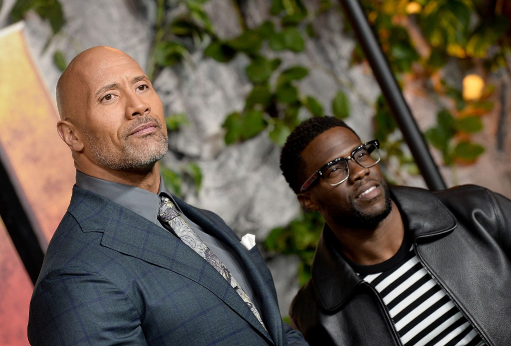 Dwayne Johnson Kevin Hart