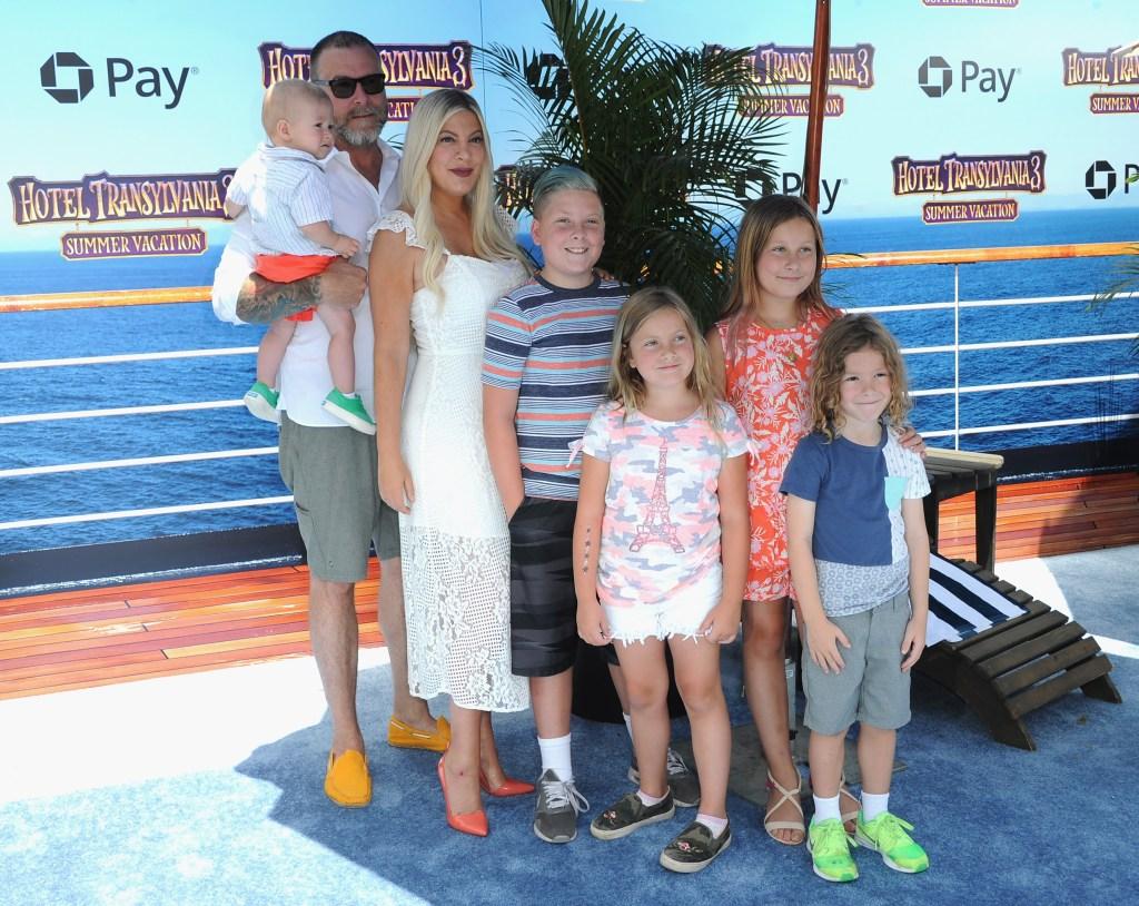 Tori Spelling Dean Family