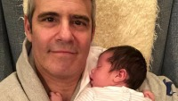 Andy Cohen and son Benjamin