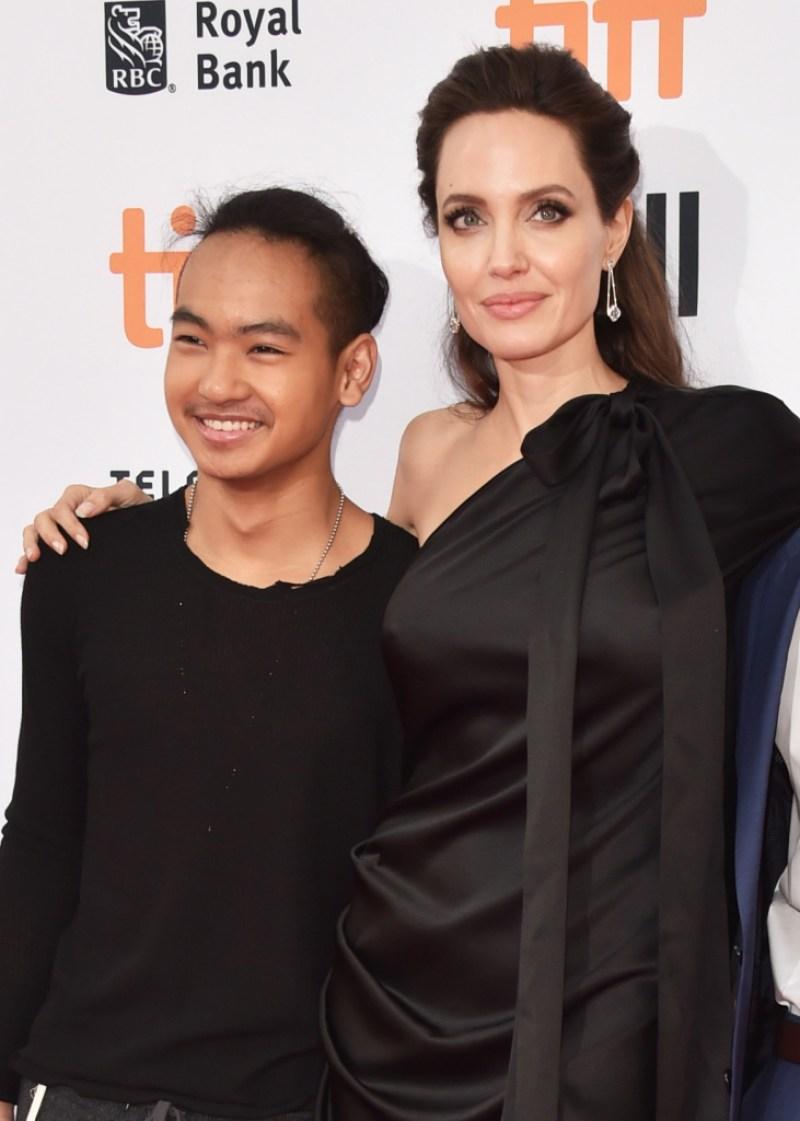Angelina Jolie Maddox Jolie-Pitt