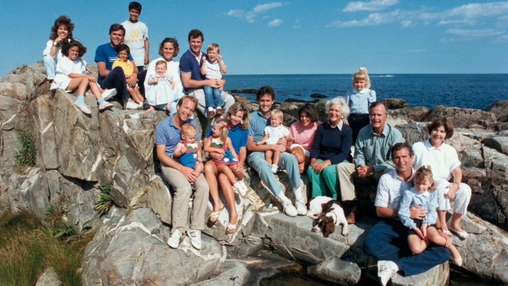 Bush family on vacation