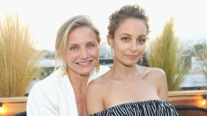 Actress Cameron Diaz and fashion designer Nicole Richie attend House of Harlow 1960 x REVOLVE