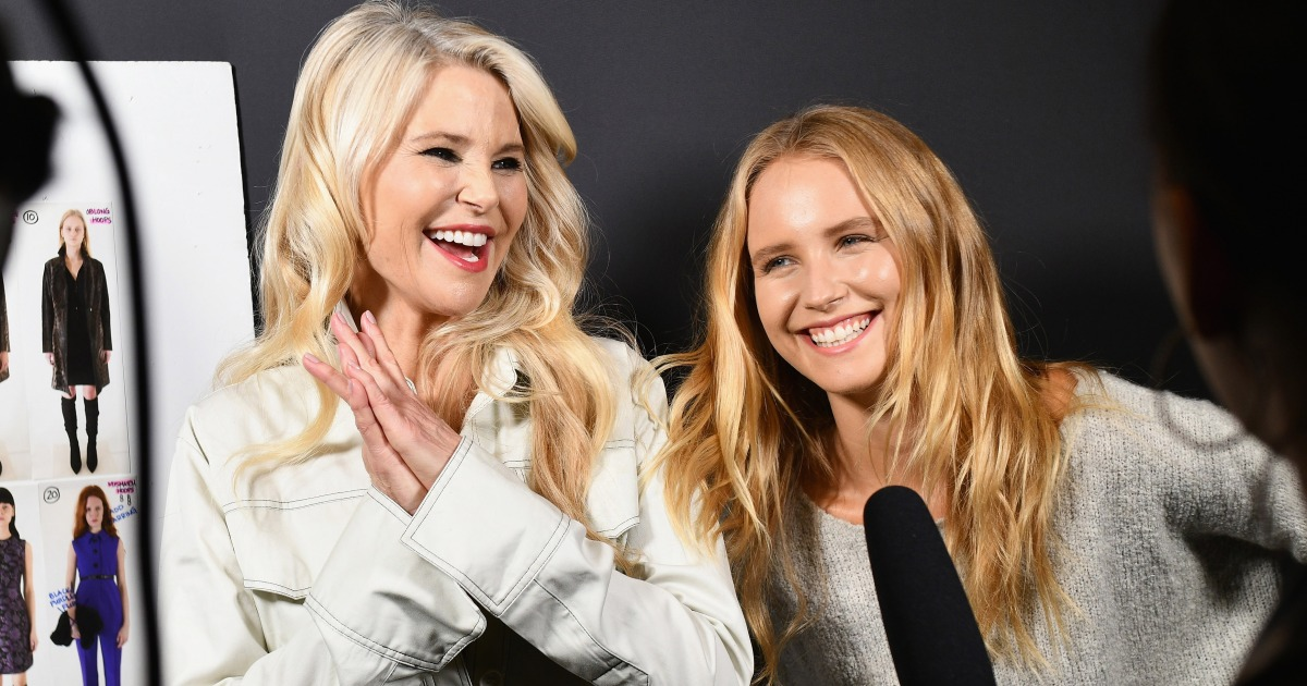 2221a840551 Christie Brinkley Walks New York Fashion Week Runway With Daughter Sailor  for First Time — See the Pics!