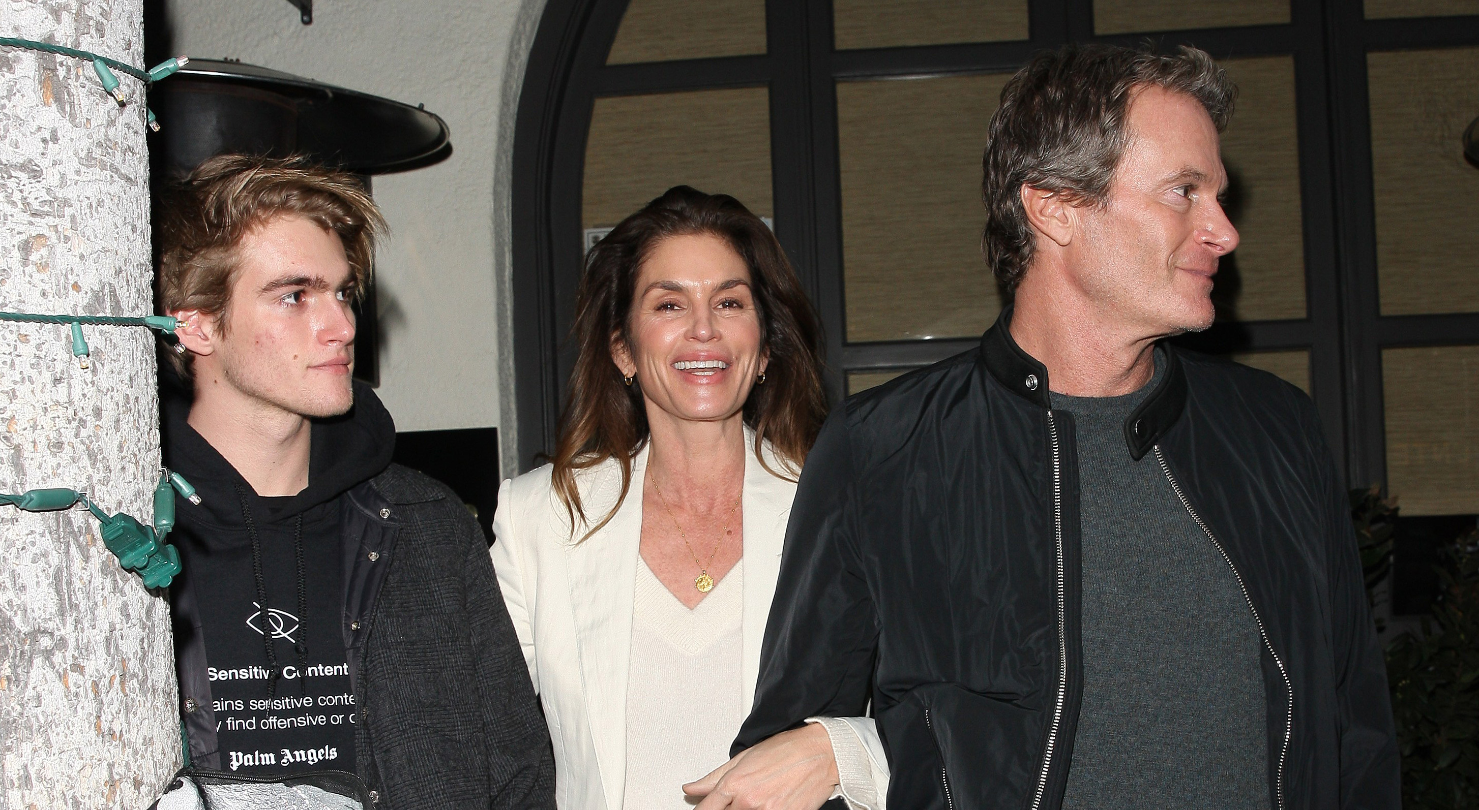 Cindy Crawford Celebrates 53rd Birthday With Husband Rande Gerber and Son Presley in Beverly Hills — See the Pics!