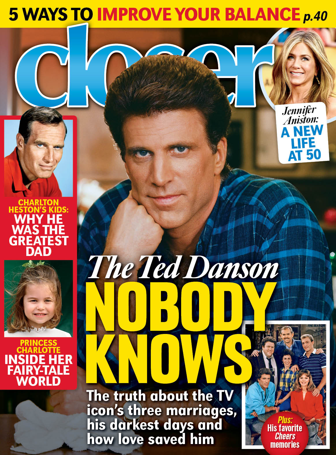 Ted Danson Closer Cover