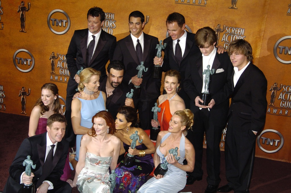 Desperate Housewives casts, winners for Outstanding Ensemble in a Comedy.