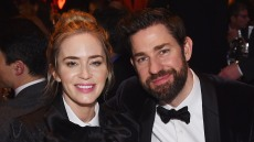 Emily Blunt and John Krasinski attend the 71st Annual Writers Guild Awards New York ceremony at Edison Ballroom