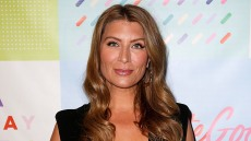 Genevieve Gorder attends the BRIT AND CO EVENT at Build Studio