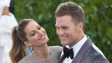 "Tom Brady and Gisele Bundchen attend the ""Rei Kawakubo/Comme des Garcons: Art Of The In-Between"" Costume Institute Gala at Metropolitan Museum of Art"