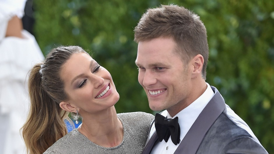 """Tom Brady and Gisele Bundchen attend the """"Rei Kawakubo/Comme des Garcons: Art Of The In-Between"""" Costume Institute Gala at Metropolitan Museum of Art"""