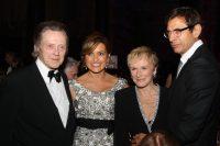 Christopher Walken, Mariska Hargitay, Glenn Close and Jeff Goldblum attend The Princess Grace Award Gala 2008 at Cipriani