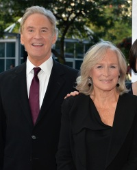 "Actors Kevin Kline (L) and Glenn Close arrive at ""The Big Chill"" 30th Anniversary screening"