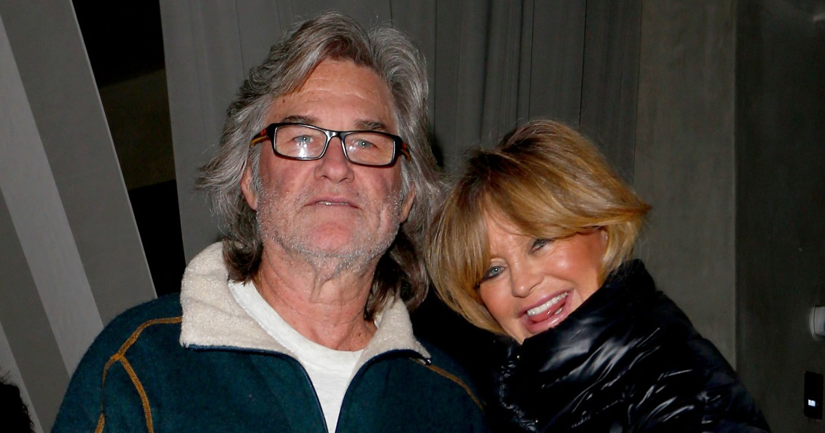 Kurt Russell And Goldie Hawn Dine At Restaurant For Date Night