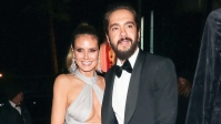 heidi-klum-gray-gown-tom-kaulitz-black-tuxedo-la