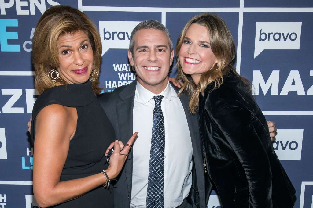Hoda Kotb and Savannah Guthrie visit Watch What Happens Live With Andy Cohen