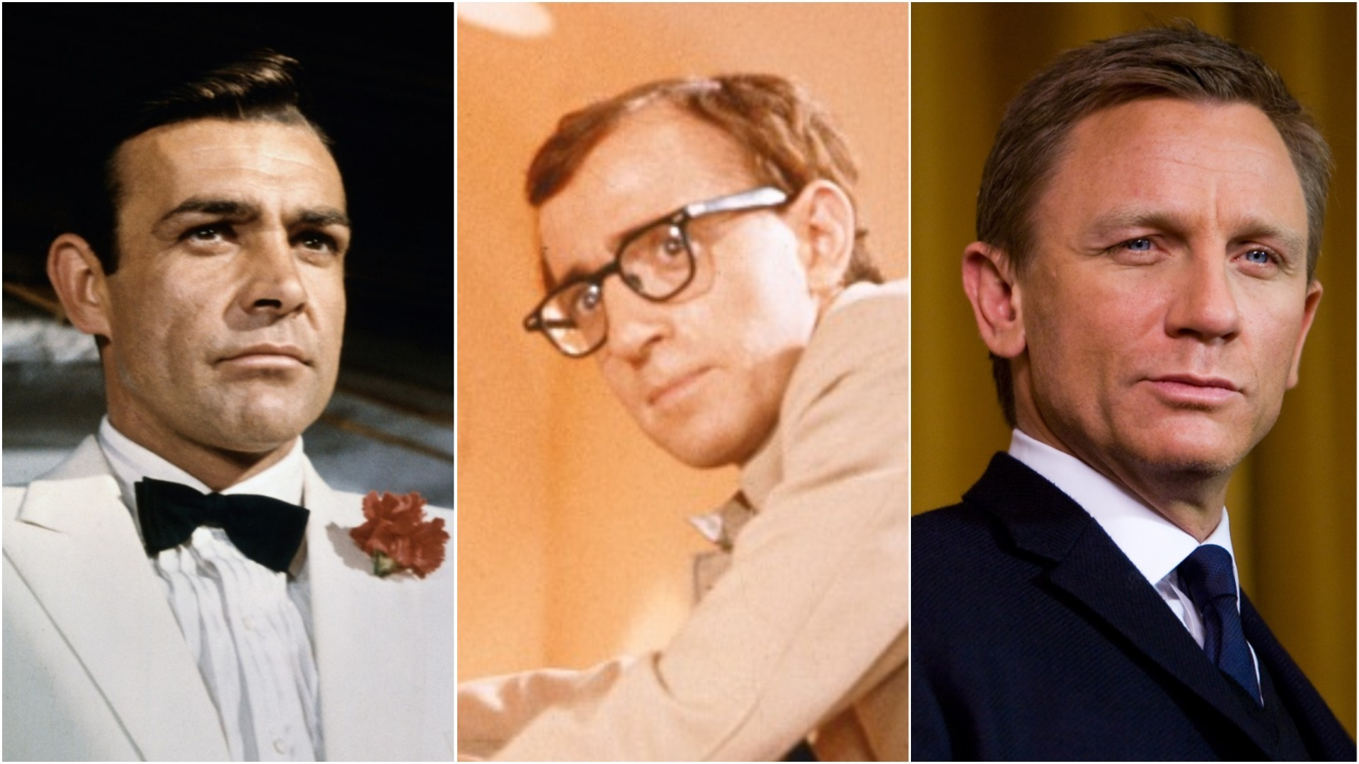 James Bond Actors From Sean Connery To Daniel Craig And