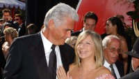 James Brolin and Barbra Streisand during The 56th Annual Primetime Emmy Awards - Arrivals
