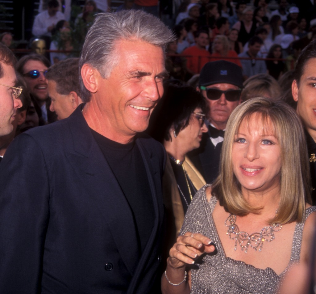 James Brolin and Barbra Streisand during The 69th Annual Academy Awards - Arrivals at Shrine Auditorium in Los Angeles, California, United States.