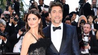 "Actress Penelope Cruz, wearing jewels by Atelier Swarovski Fine Jewelry and actor Javier Bardem attend the screening of ""Everybody Knows (Todos Lo Saben)"""