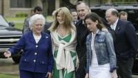 Jenna Bush Hager, George H.W. Bush, Barbara Bush