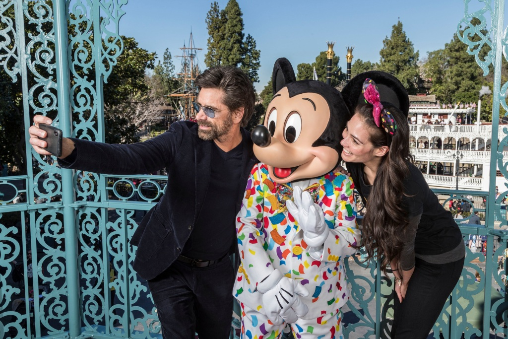 John Stamos Disneyland
