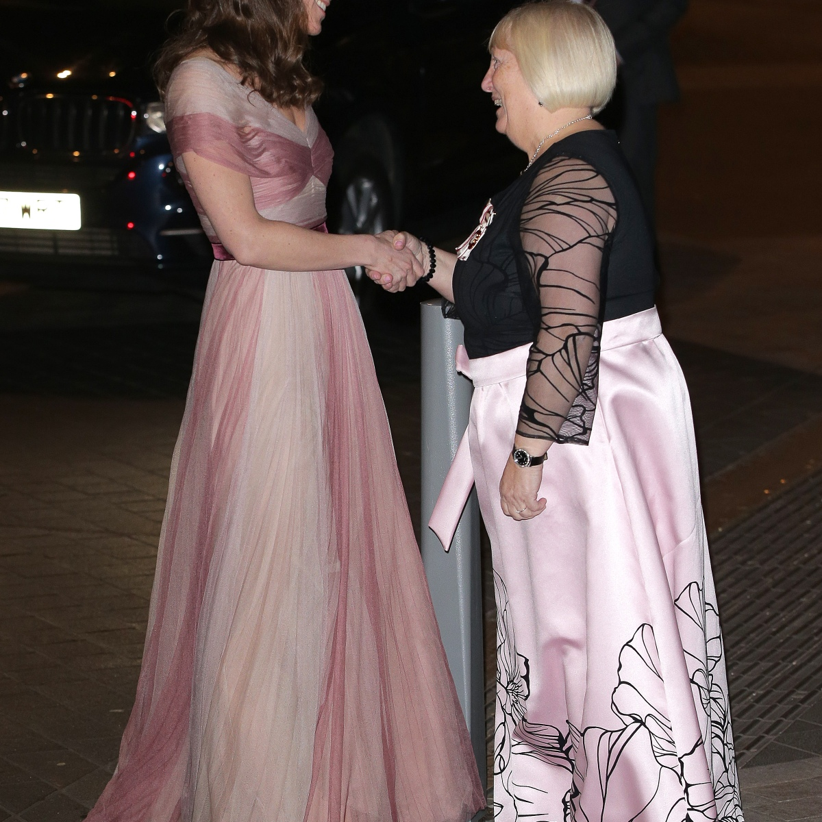 e1adb71ae Kate Middleton Looks Pretty in Pink for Glam London Gala